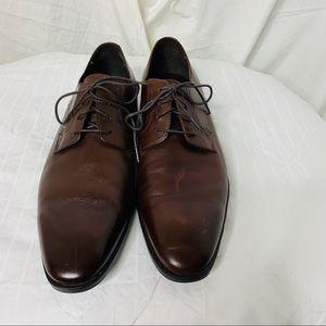 Black Brown 1826 Columbus Dress Shoes - NWOB